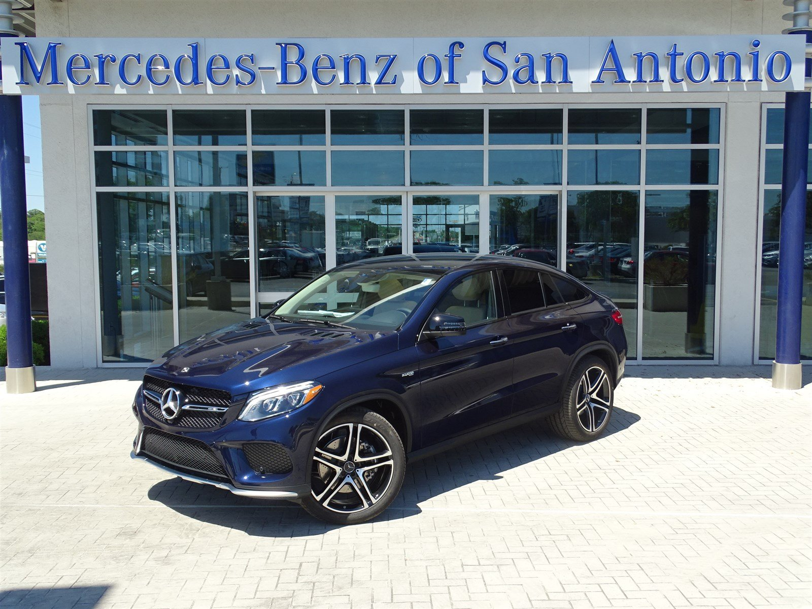 New 2017 mercedes benz gle amg gle 43 sport utility in for Mercedes benz in san antonio