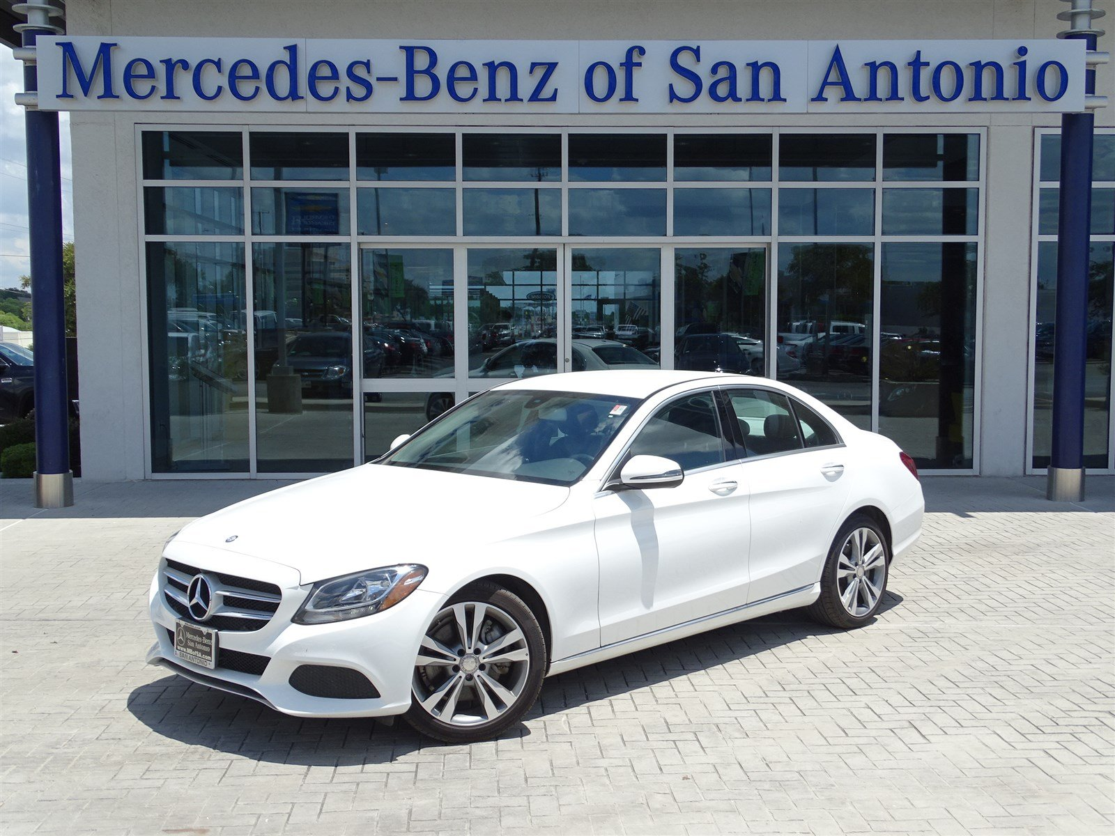 Certified pre owned 2016 mercedes benz c class c 300 sedan for Used mercedes benz in san antonio