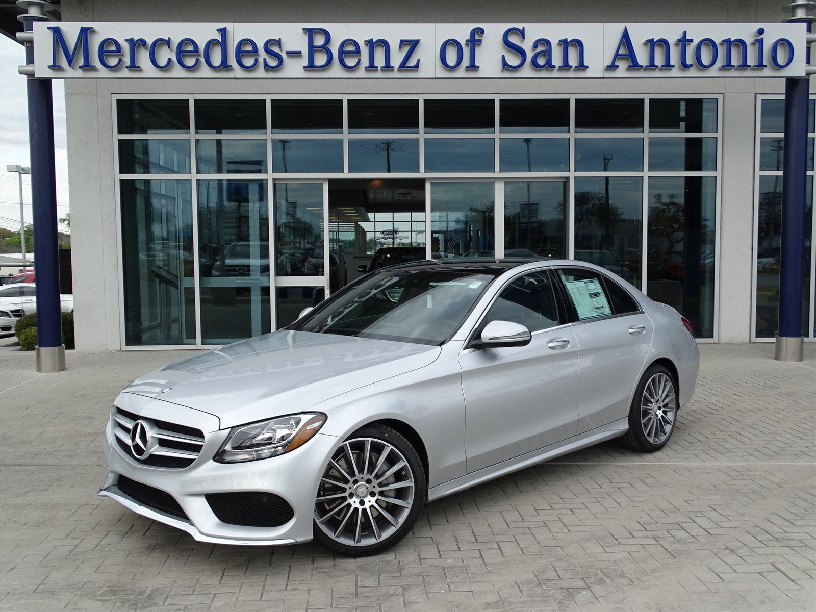 New 2017 mercedes benz c class c 300 sport sedan in san for Mercedes benz in san antonio