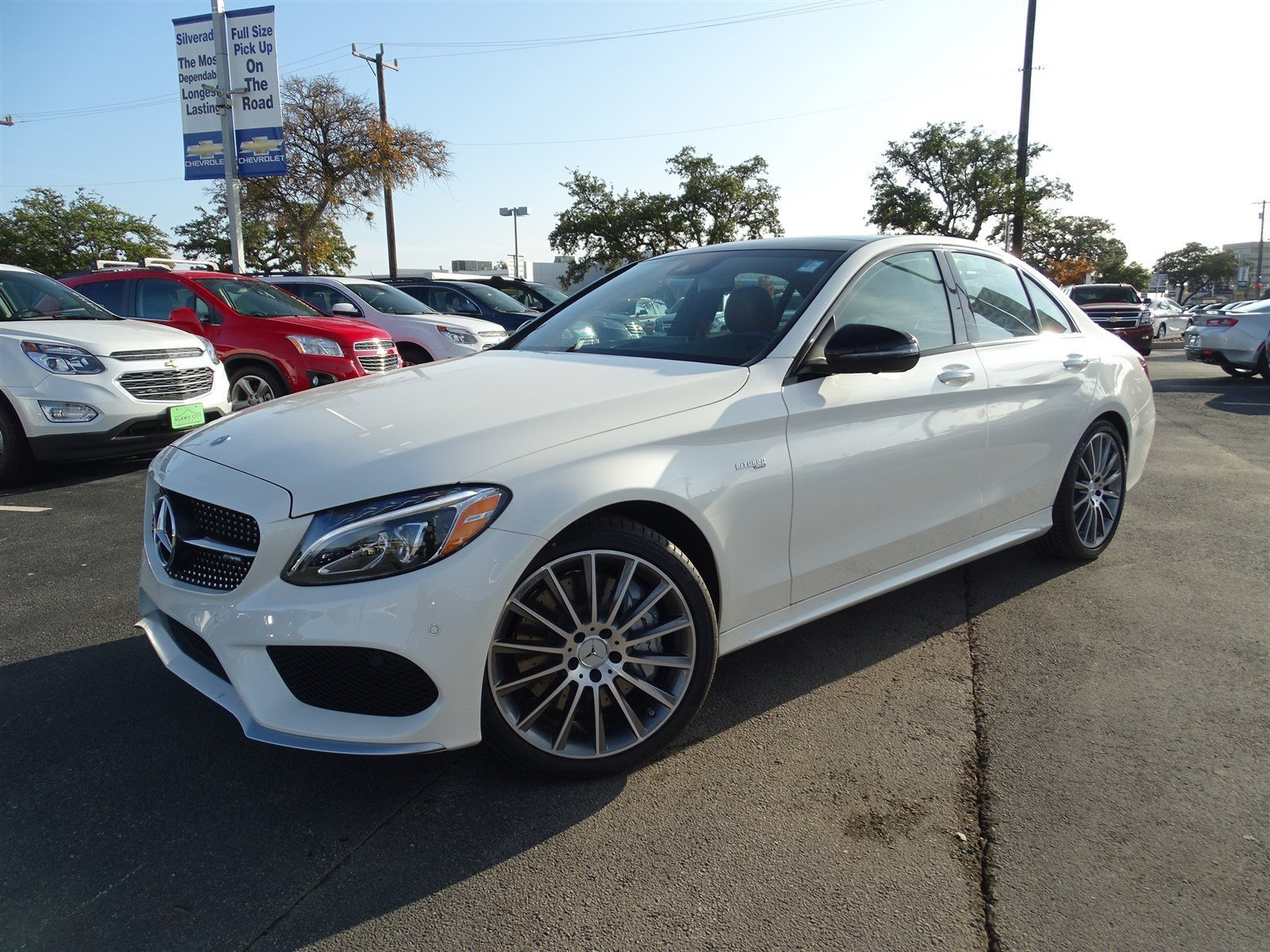 new 2017 mercedes benz c class amg c43 sedan in san