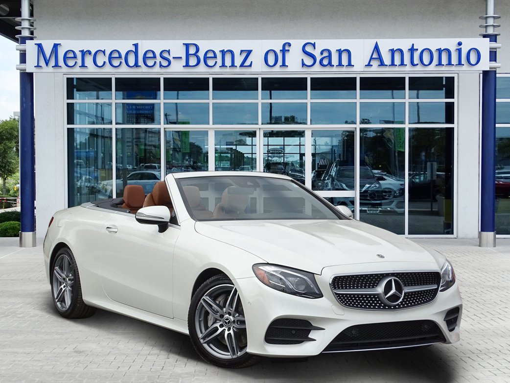new 2018 mercedes benz e class e 400 convertible in san