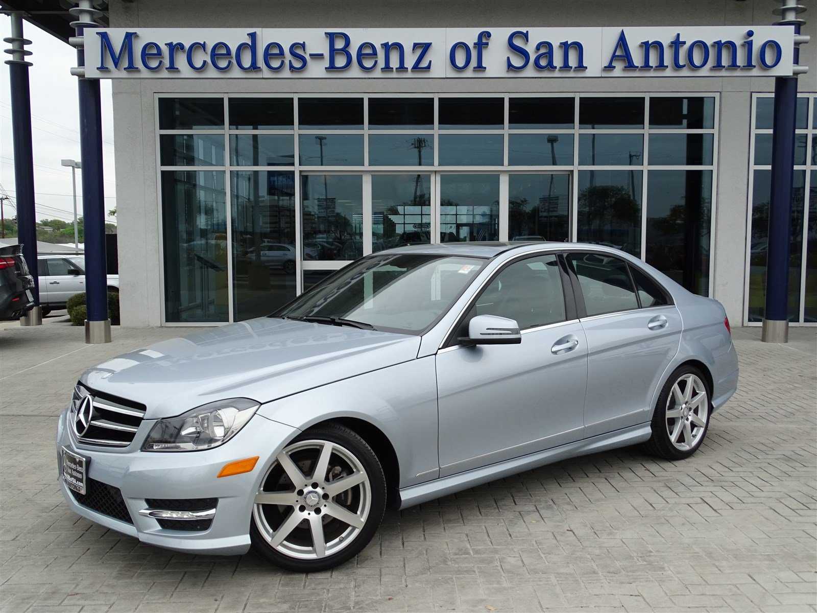 Certified pre owned 2014 mercedes benz c class c250 sport for Mercedes benz c class pre owned