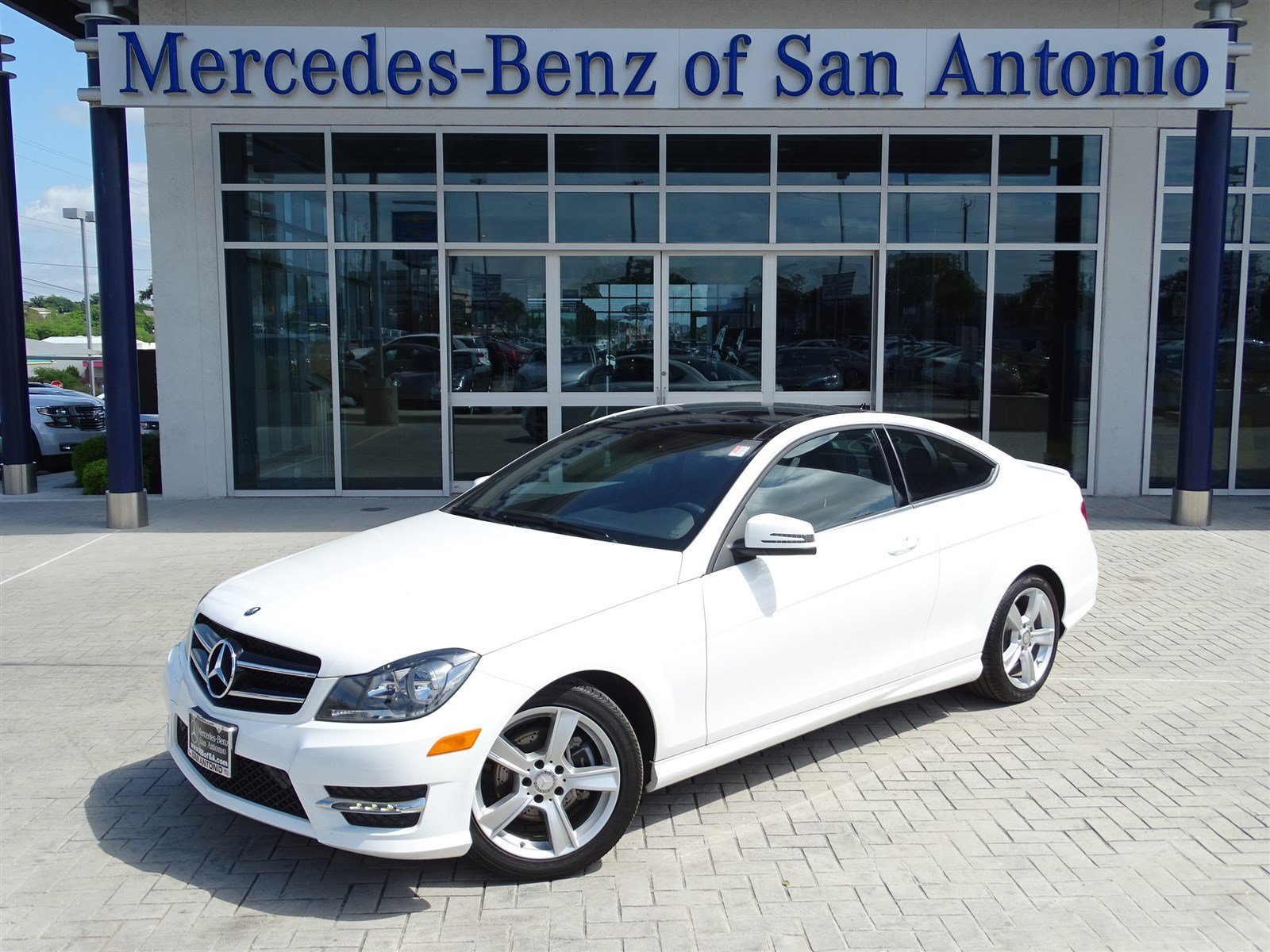 Pre owned 2015 mercedes benz c class c 250 2dr car in san for Used mercedes benz in san antonio