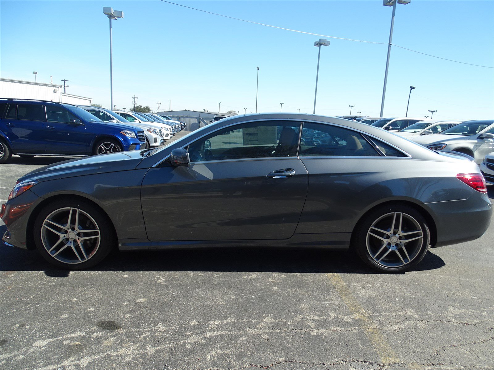 Pre owned 2016 mercedes benz e class e 400 coupe in san for Pre owned e class mercedes benz