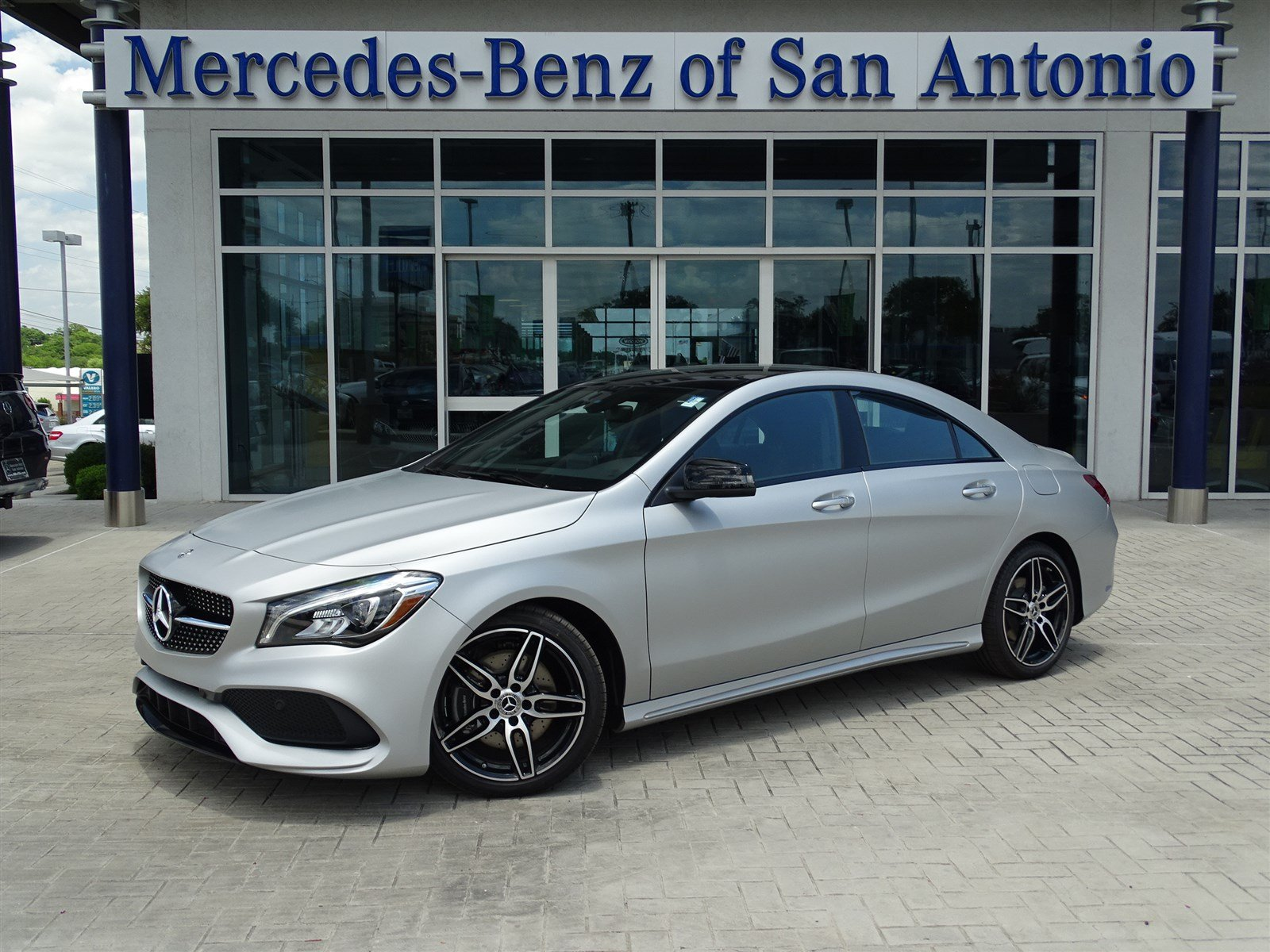 new 2018 mercedes benz cla cla 250 coupe in san antonio n15969 mercedes benz of san antonio. Black Bedroom Furniture Sets. Home Design Ideas