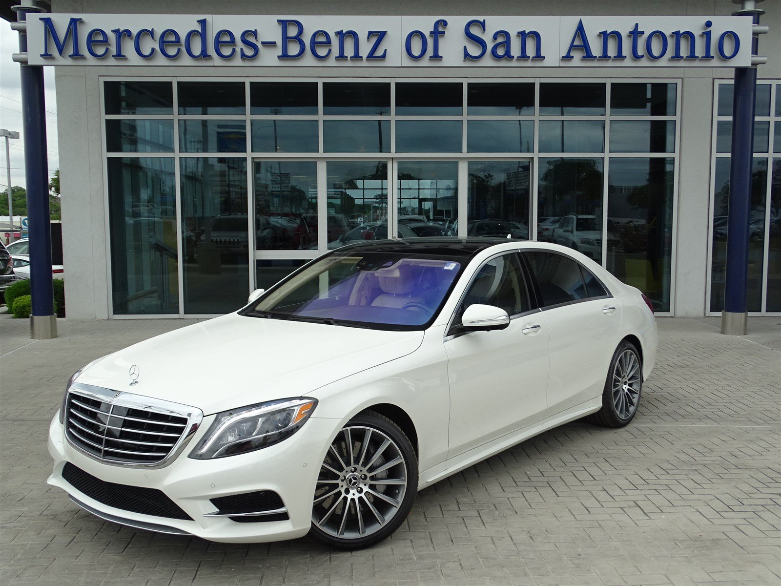 Certified pre owned 2017 mercedes benz s class s 550 sedan for Used mercedes benz in san antonio
