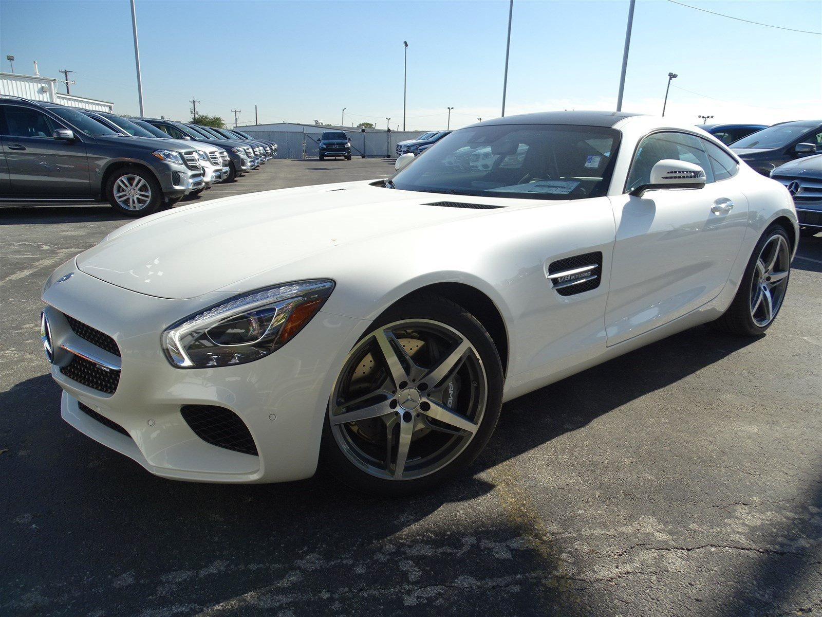 New 2017 mercedes benz amg gt coupe in san antonio for 2017 mercedes benz amg gt msrp