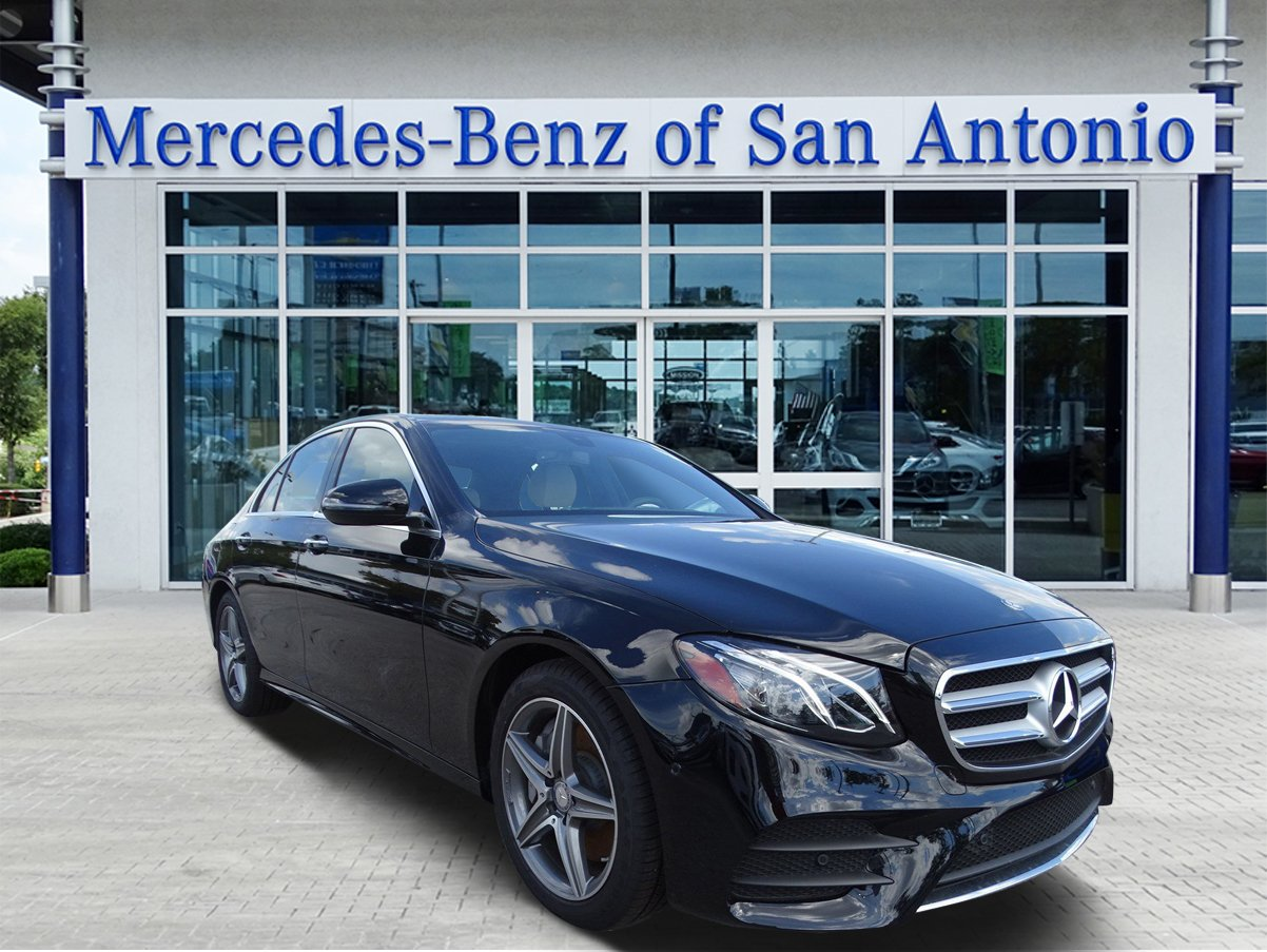 Pre owned 2017 mercedes benz e class e 300 sedan in san for Used mercedes benz in san antonio